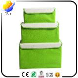 Il tessuto non tessuto strombazza casella di immagazzinamento in l'armadio di rifinitura dei vestiti
