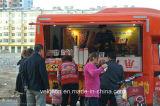 Новый Н тип тележка еды передвижной тележки доставки с обслуживанием передвижная