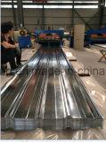Dx51d 금속 강철 Prepainted 직류 전기를 통한 강철 물결 모양 루핑 장