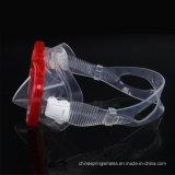고품질 실리콘 Snorkeling 가면 스노클 장비