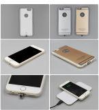 Cajas de carga sin hilos de goma estándar al por mayor del receptor de Qi para el iPhone