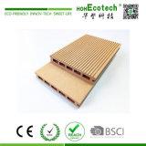 Пол Decking стабилности высокого цвета деревянный пластичный составной