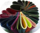 Folha de borracha de neoprene com cores Tecido de poliéster
