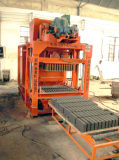 Qt4-24 Manual Concrete Hollow Block Brick Making Machine Line