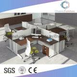 Sitio de trabajo con estilo del cubículo del ordenador del personal de la venta caliente