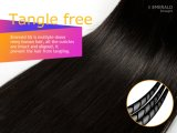 Glücks-Haar 3 rollt eine Satz-brasilianische Jungfrau-Haar-Menschenhaar-Webart zusammen