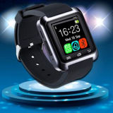 U8 지능적인 시계 실리콘 시계 줄을%s 가진 다기능 Bluetooth 스포츠 시계