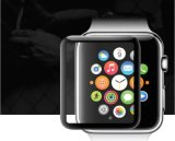 Resistência ao tempo de superfície curvada 3D Impressão de seda Filme de vidro temperado para relógio de maçã