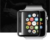 卸し売り3D曲げられた表面の絹の印刷の熱のAppleの腕時計のための曲がる緩和されたガラスフィルム