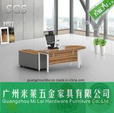 Vector ejecutivo del nuevo de la oficina conceptora del &Home de los muebles escritorio del ordenador con la cabina móvil