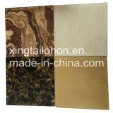 Отражательное подкрашиванное стекло листа для живущий стены предпосылки комнаты