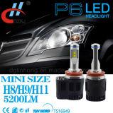 Linterna brillante estupenda impermeable de 5200lm 55W H11 LED