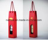 Изготовленный на заказ логос напечатал коробки Corrugated вина упаковывая с вставкой безопасности