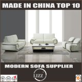 Sofá de couro de 123 assentos para a HOME usada com braço inoxidável