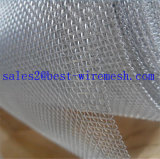 Aluminiumfenster-Bildschirm-Kleber-überzogenes Aluminiumineinander greifen/Aluminiumlegierung-Moskito-Netz