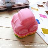 Mini moulages simples de gâteau de silicones des véhicules 9.5*8.5*5.5cm pour des quiches, pains