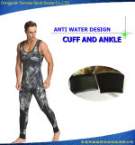 Man's Neoprene Super Stretch Camouflage Scuba Vest Diving Surfing Suit