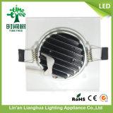 9W正方形LEDの穂軸の天井灯Downlight