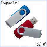 128GB поворачивают ручку памяти USB (XH-USB-001)