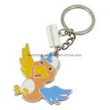 공장 최신 판매 금속 제 2 동물성 모양 Keychain