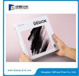 Impression sur catalogue de couverture rigide de taille personnalisée