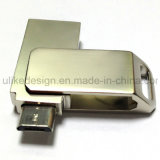 Metallförderndes OTG USB-Blinken-Laufwerk (UL-OTG019)