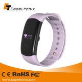 Horloge van de Sporten van het Horloge van de Fitness van de Pedometer van de Monitor van het Tarief van het Hart van de Bloeddruk van de Band van de Armband van het Horloge van Capetronix het Slimme Digitale