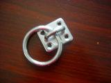 リングの正方形の目の版が付いているステンレス鋼