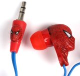 Spiderman Cartoon MP3 Earphone for Promotion