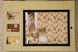 Asien-Markt-China-gutes Preis-Fabrik-Produktions-Gymnasium-Wand-Dekoration-Polyester