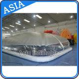 Tampa inflável interna ou ao ar livre da piscina, tampa da bolha da associação de água