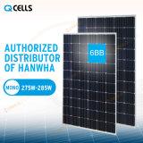 Панель 275W 280W PV клеток q Mono для солнечной электрической системы