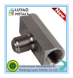 De Precisie die van het roestvrij staal Deel voor Klep machinaal bewerken