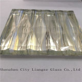 vidro laminado ultra desobstruído de 10mm+Silk+5mm/vidro vidro Tempered/segurança para o edifício