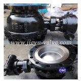 Válvula de bola flotante de acero DIN moldeada de Split Cuerpo