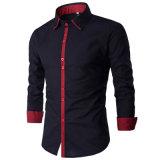 Camice di vestito casuale calde dal Mens del venditore di autunno di modo (A438)
