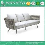 Progetto esterno di tessitura di tessitura stabilito dell'hotel della mobilia del sofà del nastro di alluminio del sofà del sofà del sofà moderno