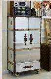 ألومنيوم أثر قديم بلد منزل فندق أثاث لازم باخرة خمر خزانة