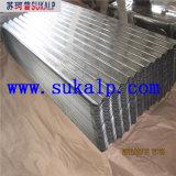 물결 모양 금속 루핑 장 기계