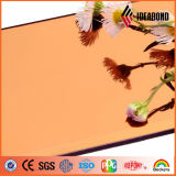 Ideabond B1 건물 정면 훈장을%s 내화성 알루미늄 황갈색 미러 ACP 장 중국제