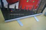 Aluminium escamotable portatif Pull/POP/Roll de qualité vers le haut d'exposition/juste/Foire/stand de drapeau d'étalage de la publicité/promotion