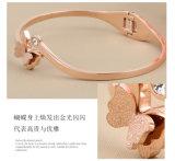 Mariposa de la pulsera del acero inoxidable de la joyería de moda de joyería