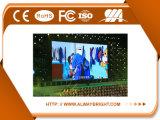 P3.91 500*500mm Druckguss-dünne Schrank-Innenmiete LED-Bildschirmanzeige