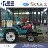 120m Portable Tractor Mounted Used Borehole Water Well Drilling Machine Price für Sale