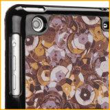 Caisse futée en cuir de comprimé d'unité centrale pour la mini couverture d'iPad avec le stand (SP-MYM315)