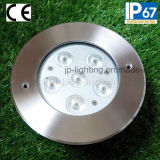18W Tricolor Aluminum Inground LED Light (JP82666)