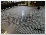 中国の有名な石油の樹脂鋼鉄ベルトの冷却の粒状になる機械