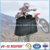 Tubo interno de la motocicleta butílica de la alta calidad. 3.00-19