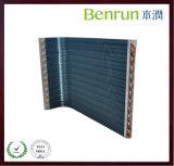 Kupfernes Gefäß-Aluminiumflosse-Wärmeaustauscher-Kondensator