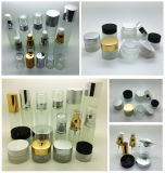 10g 20g 30g Glass Cosmetic Cream Jar